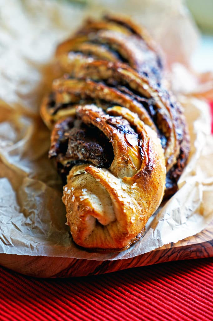 Twisted Almond and Nutella Bread Loaf7