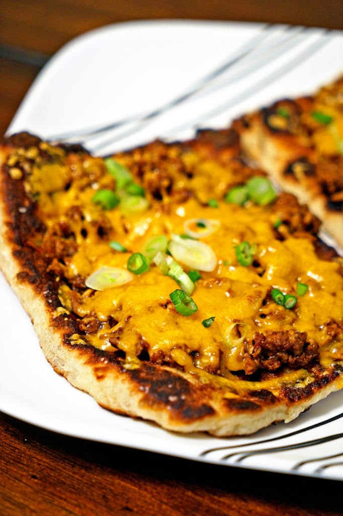Chipotle Cheeseburger Flatbread Melts8