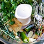 Lemon Mint Rosemary and Sage Herb Paste for Roasting