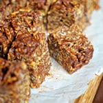 No Bake Chocolate Peanut Butter Crunch Bars