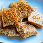 Orange Sesame Seed Brittle (Simsemieh)