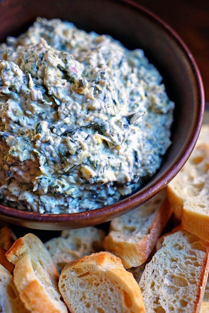 Roasted Garlic, Spinach and Artichoke Dip8