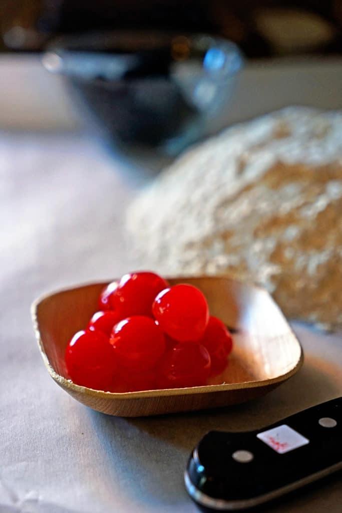 Dark Chocolate Cherry Pinwheel Shortbread Cookies4