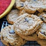 Muscovado Dark Chocolate Peanut Butter Cookies