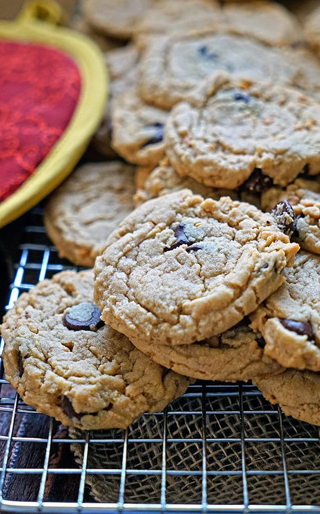Dark Chocolate Peanut Butter Cookies1