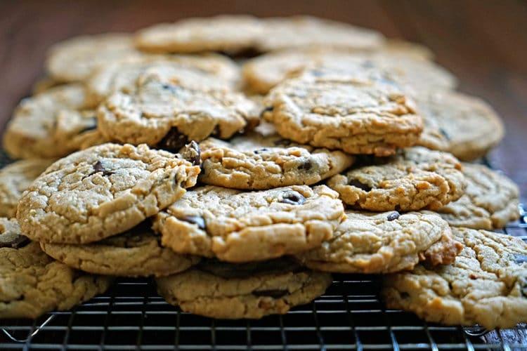 Dark Chocolate Peanut Butter Cookies2