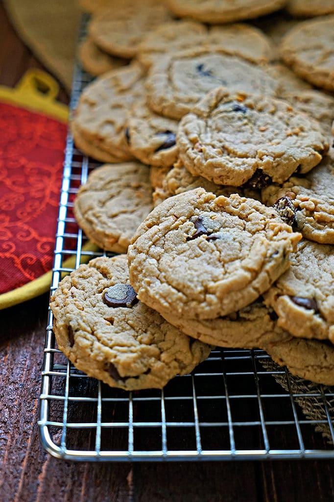 Dark Chocolate Peanut Butter Cookies3