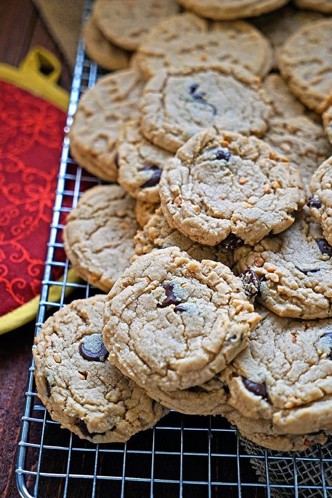 Dark Chocolate Peanut Butter Cookies4