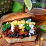 Pineapple Guajillo Chile Pulled Pork