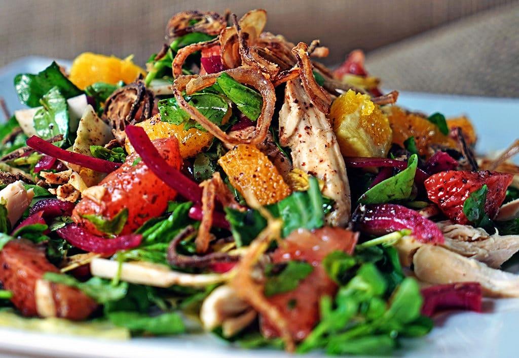 Chicken Salad With Shallots Recipe — Dishmaps