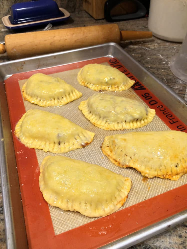 Shredded Beef Verde Empanadas with Blended Chimichurri4