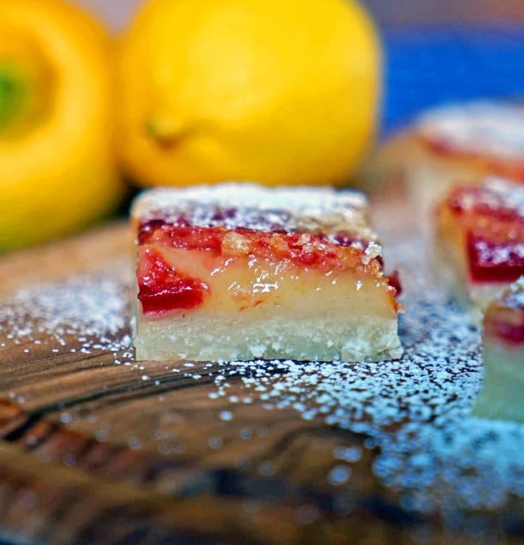 Strawberry Lemon Bars - keviniscooking.com