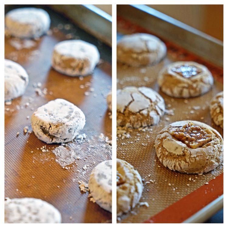 Brown Sugar Crinkle Cookies with Cinnamon Walnut Nougat ...