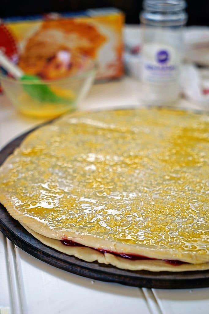 Cherry Pie Fries with Sour Cream Glaze4