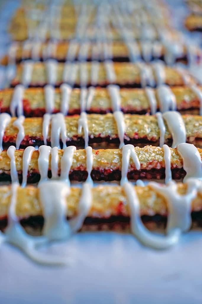 Cherry Pie Fries with Sour Cream Glaze6
