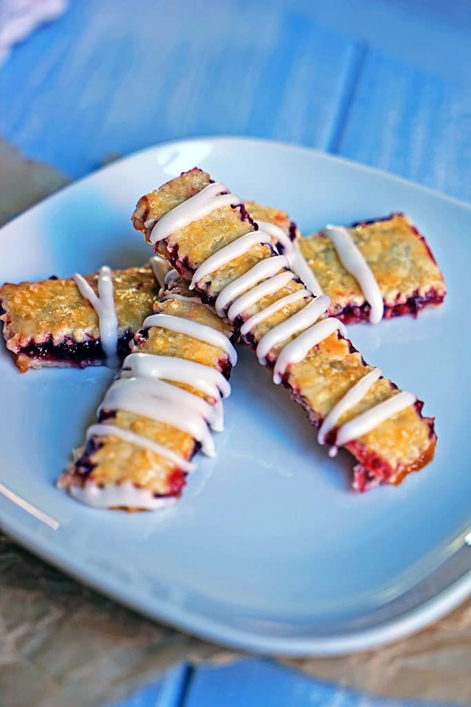 Cherry Pie Fries with Sour Cream Glaze8