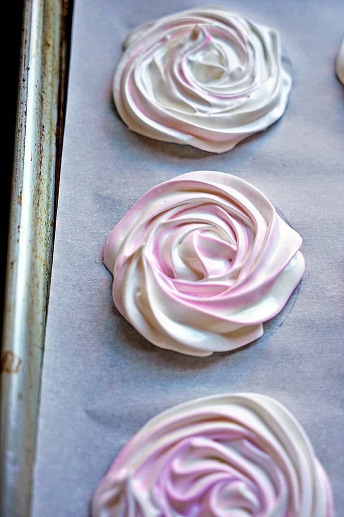 French Meringue Chocolate Sandwich Cookies5