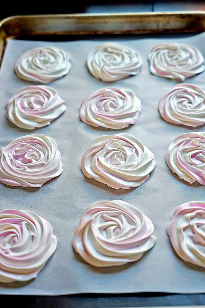 French Meringue Chocolate Sandwich Cookies6