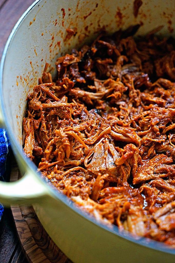 Pineapple Guajillo Chile Pulled Pork4