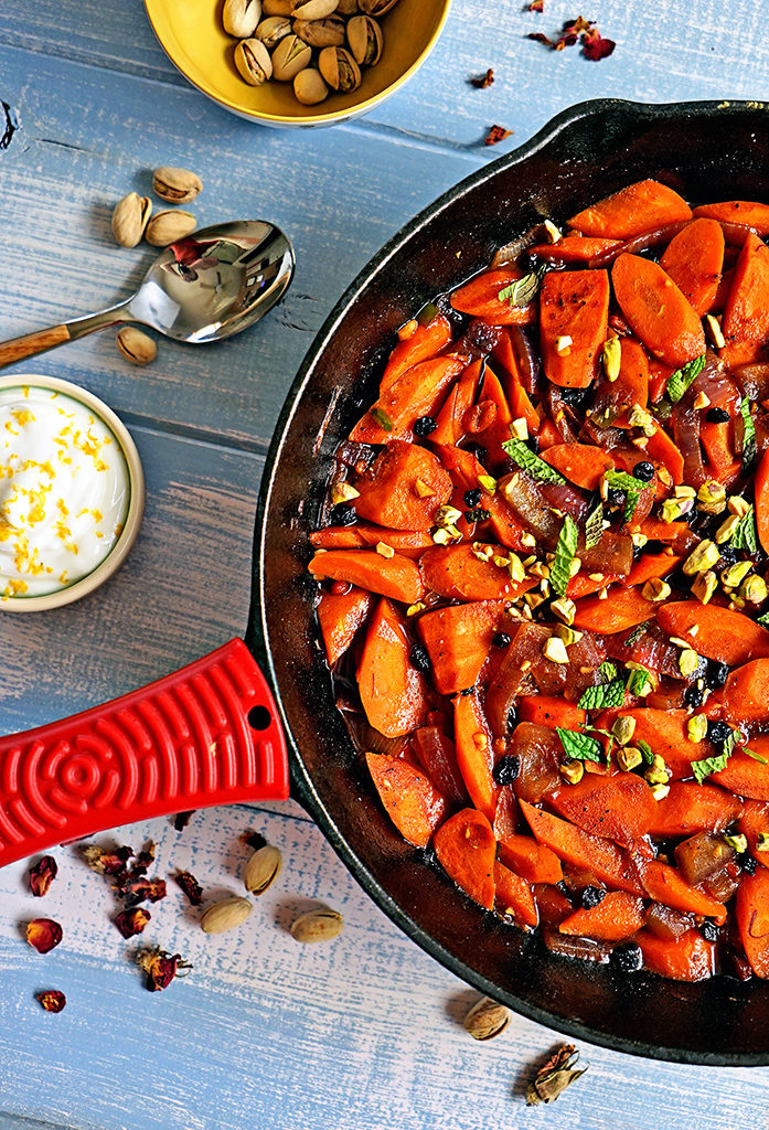 Spicy Uzbeki Carrots with Currants, Goji Berries and Pistachios5