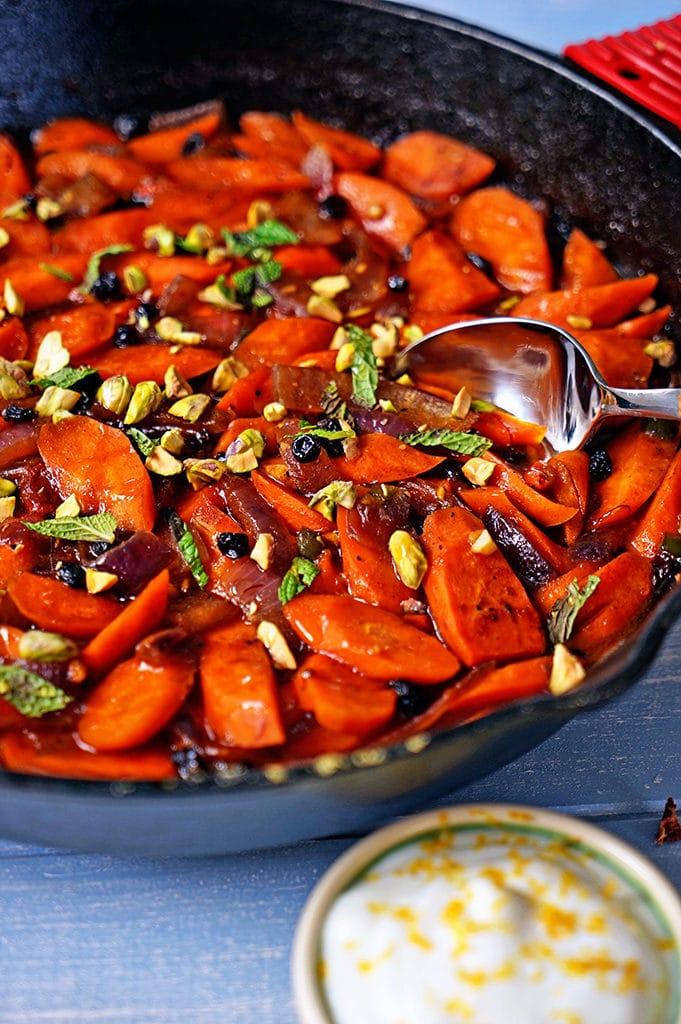 Spicy Uzbeki Carrots with Currants, Goji Berries and Pistachios6