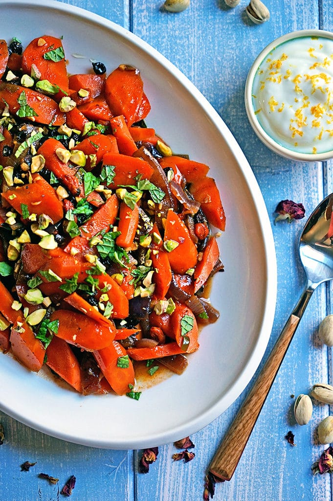 Spicy Uzbeki Carrots with Currants, Goji Berries and Pistachios7