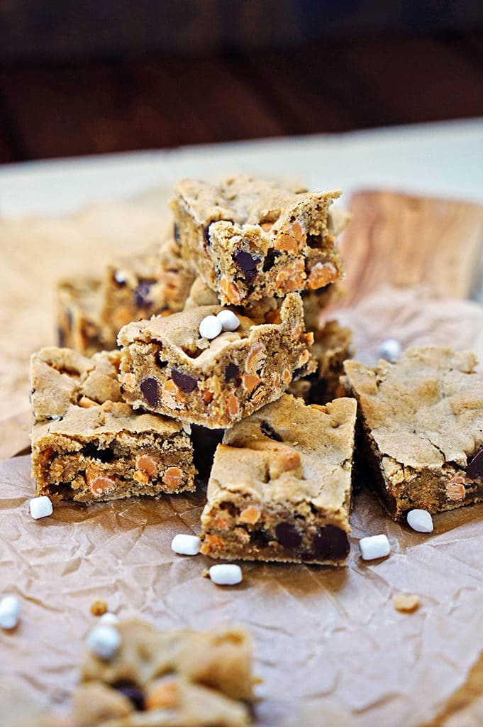Marshmallow Butterscotch Blondies3