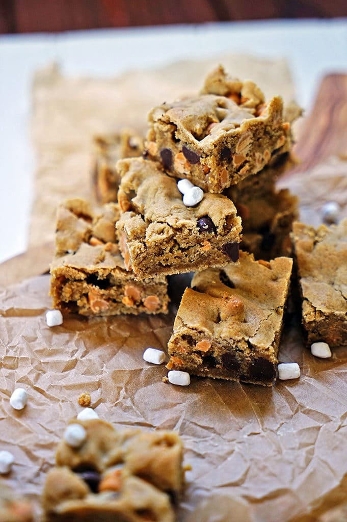 Marshmallow Butterscotch Blondies5