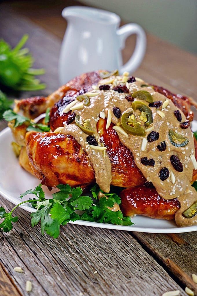 Roasted Chicken with Almond Banana Mole4