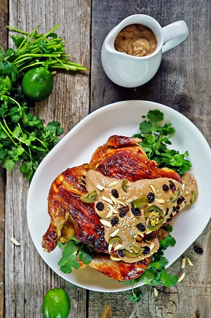 Roasted Chicken with Almond Banana Mole5