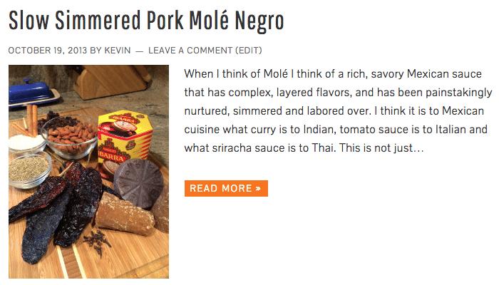 Slow Simmered Pork Molé Negro - Keviniscooking.com