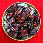 Szechuan Red Braised Pork Belly – (Hong Shao Rou)