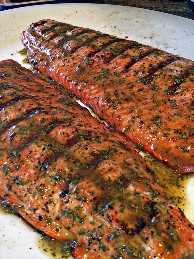 grilled amp glazed wild copper river sockeye salmon
