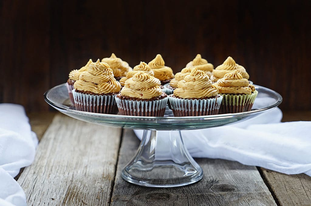 Brownie Cupcakes with Peanut Butter Buttercream Frosting2