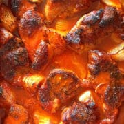 Brazilian Braised Pork in Passion Fruit, Orange and Guajillo Peppers. www.keviniscooking.com