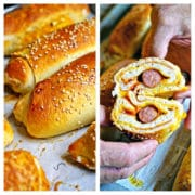 Sourdough Hot Dog Wraps - www.keviniscooking.com