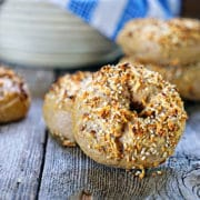 Sourdough Wheat Bagels. www.keviniscooking.com