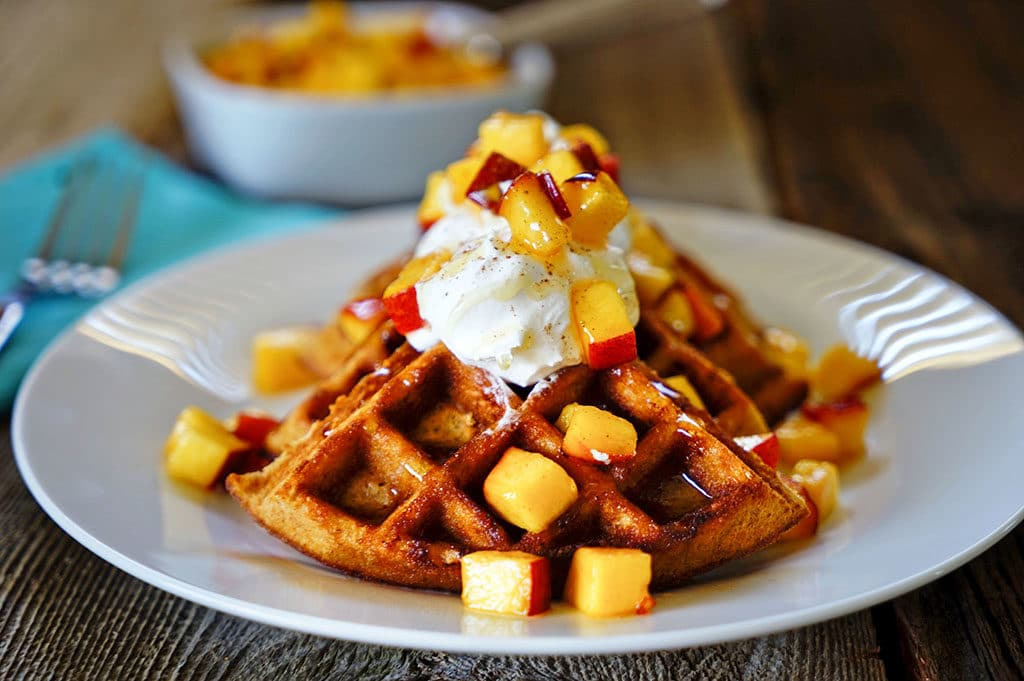 Buttermilk Waffles With Honey Whipped Cream Recipes — Dishmaps