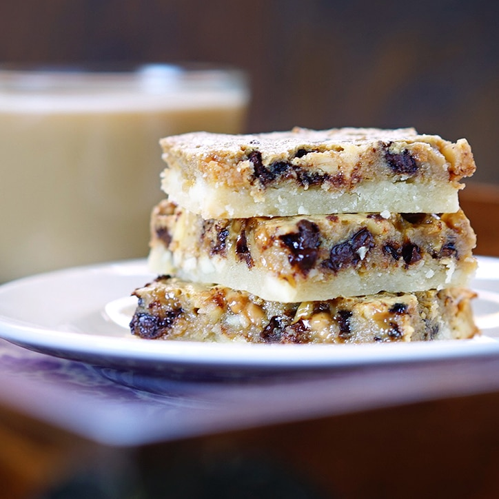 no further, because these Espresso Chocolate Toffee Almond Shortbread ...