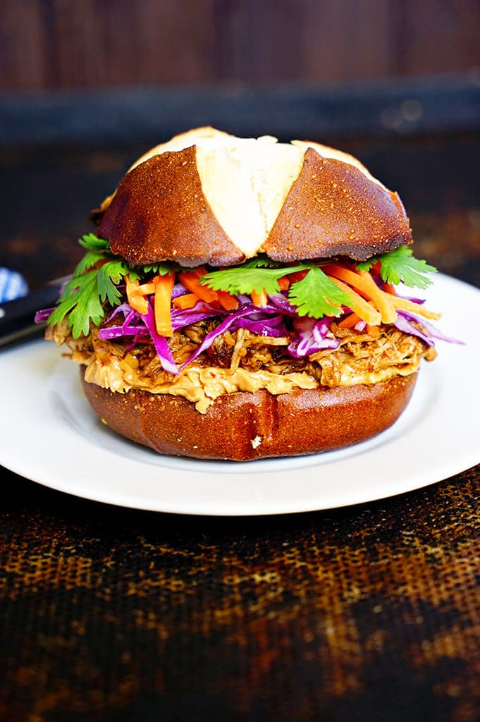 Asian Pulled Pork Slider. www.keviniscooking.com