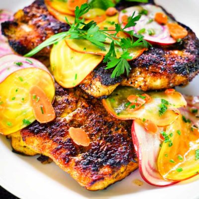 Honey Turmeric Pork Cutlets