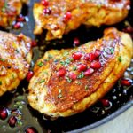 Roasted Chicken with Pomegranate Molasses