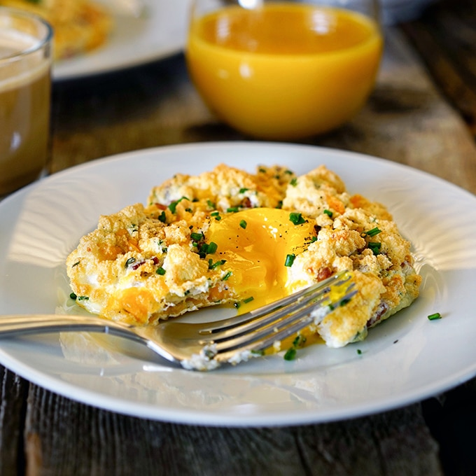 Savory Egg Clouds. www.keviniscooking.com