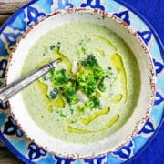 Cream of Broccoli Soup. www.keviniscooking.com