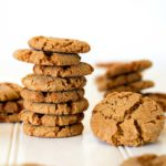 Bacon Fat Gingersnap Cookies
