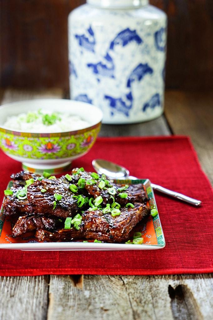 Bulgogi Korean BBQ Short Ribs. www.keviniscooking.com