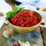 Fresh Cranberry Sauce with Cherry