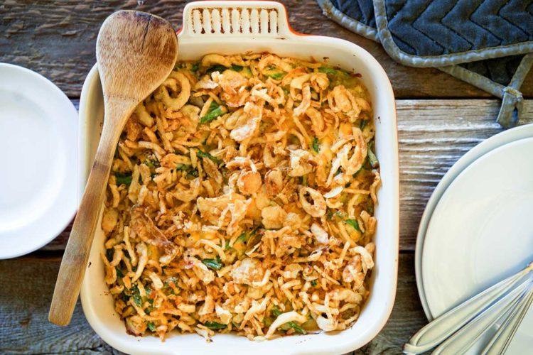 Turkey Green Bean Casserole Gratin. www.keviniscooking.com