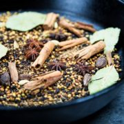 This Indian Garam Masala Spice Blend is an exotic mix of warm spices. I show you how to make it with most pantry spices or purchased from bin markets. keviniscooking.com