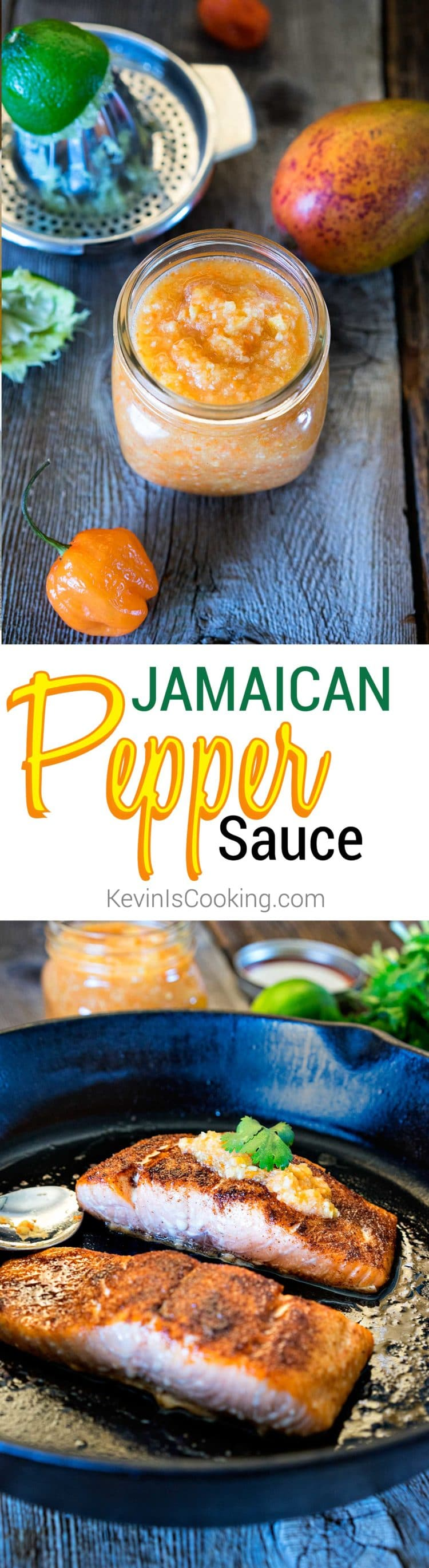 Jamaican Pepper Sauce. www.keviniscooking.com